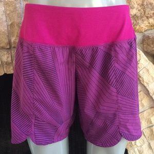 Brooks Shorts - Brooks Running Purple Shorts